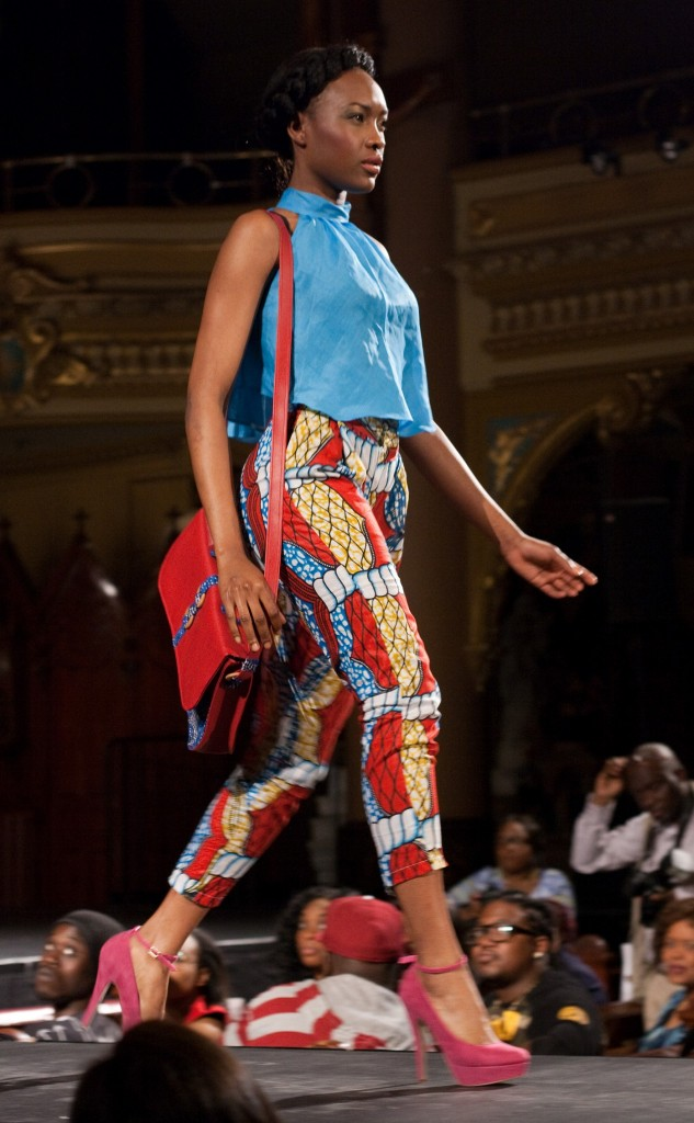 Annie Melissa Etienne's Tmel at Black Fashion Week Montreal 2014
