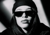Aaliyah black and white