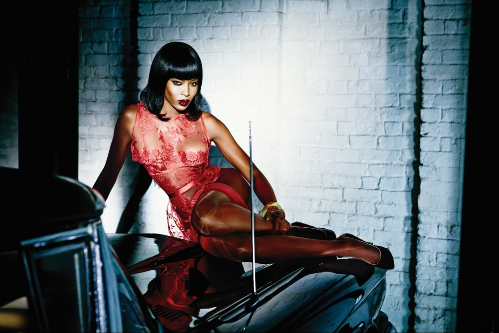 Naomi Campbell Agent Provocateur